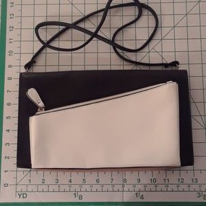 MELIE BLANCO black,tan and white bag